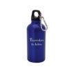 Bidón personalizado de aluminio de 400 ml de capacidad. Se puede personalizar con una frase, nombre de la falla, escudo, etc..¡Lo que más te guste!.
