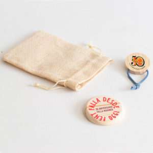 Set chapa y pañuelero personalizado